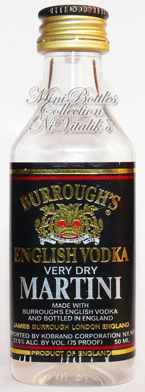 Burrough's Martini